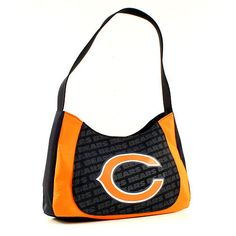 ONE CHICAGO BEARS, CURVE HOBO SWAG PURSE FROM LITTLE EARTH #LittleEarth #ChicagoBears