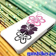 Aloha Mahalo Hawaiian Hibiscus Floral for iPhone, iPod, Samsung Galaxy, HTC One, Nexus **