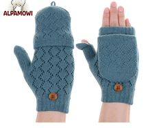 Hand Knit Gray White Wool Mittens Hand Knit Gray White Wool   Etsy Wool Gloves, Knitted Gloves, Fingerless Mittens, Knit Mittens, Knitting For Kids, Hand Knitting, Wool Sweaters, Black Sweaters