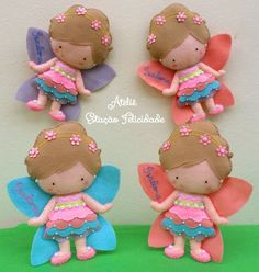 fairies. Definitely going to have to make these to give away. Maybe to the children's hospital