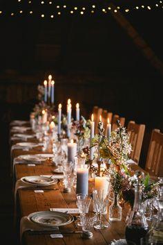 Inspiration - Mountain Wedding Décor de table floral - Lilas Wood