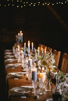 Inspiration - Mountain Wedding Décor de table floral - Lilas Wood