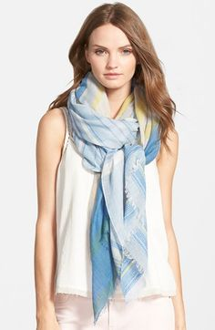 Hinge+Stripe+Jacquard+Scarf+available+at+#Nordstrom