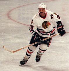 1993  Chicago Tribune / January 15, 2013  Dirk Graham skating toward the action.