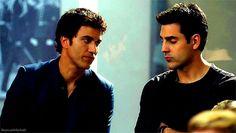Lol bromance :) Jerry and Sam -Rookie Blue I miss jerry sooooo much!!!!!