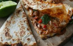 Easy Lunch Recipe: Curtis Stone's BBQ Chicken Quesdadillas