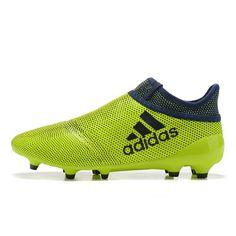 Nuevos Adidas X 17+ PureChaos FG AG Botas De Futbol Verde Negro f6ec51fe43036