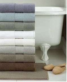 Macy's Hotel Collection Bath Towels