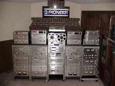 Audio rack of destruction, from Pioneer