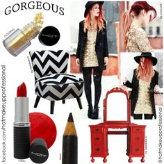 GORGEOUS RED!! #fashion #makeup #lovers #red #products #hair #trends