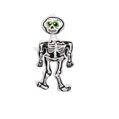 Gifts 4 All Occasions Limited SHATCHI Large Inflatable Skeleton Halloween Decoration Fancy Dress Party Accessories Garden Home Bar Indoor Outdoor Window Door Scary Spooky Horror Décor, White Halloween Skeleton Decorations, Halloween Goodies, Halloween Skeletons, Halloween Party Decor, Halloween Masks, Spooky Halloween, Happy Halloween, Party Wholesale, Horror Decor