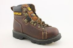 "Caterpillar womens Alaska FX 6"" Tan Work Boots US 8 M NIB Caterpillar. $79.95. Save 29% Off!"