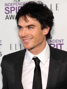Ian Somerhaulder as Christian Grey...I can agree with that.