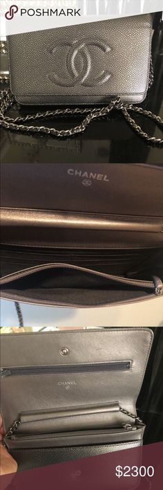 Chanel Timeless wallet on Chain Like new condition Caviar Wallet on chain  from Chanel! 100 e1a919f9ab