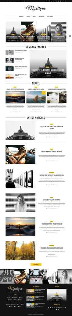Mystique is flat, clean and super flexible responsive #WordPress theme for magazine, #news or blog website with 100+ amazing #demo download now➯ https://themeforest.net/item/mystique-fast-clean-flexible-wordpress-magazine-news-blog-theme/16643343?ref=Datasata