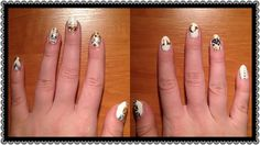 Very first very own flash nails #byme #creativity