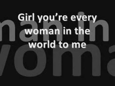 Every Woman In The World - Air Supply [Lyrics] ONE WOMAN, CAN TRULY BE< THAT SPECIAL! <3