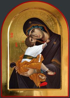 Byzantine Icons, Byzantine Art, Religious Icons, Religious Art, Christ The Good Shepherd, Faith Of Our Fathers, Greek Icons, Catholic Pictures, Images Of Mary