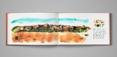 My dirty orange sketchbook urban sketching on Behance, Maru Godas Urban Sketching, Fun Facts, Surfing, Behance, Orange, Drawings, Pictures, Handmade, Painting