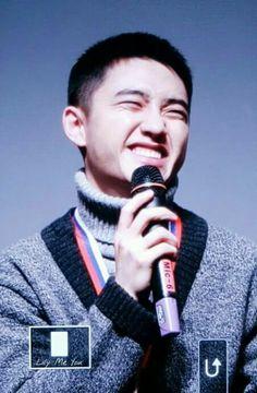 His smile is precious  #Kyungso #DO #EXO