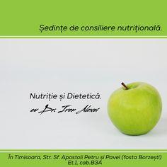 🌿evaluarea stării de sănătate. 🌿măsurare și interpretare parametrii nutriționali: greutate, inălțime, țesut adipos, țesut muscular etc.. 🌿interpretare și evaluare a jurnalului alimentar. 🌿stabilirea obiectivelor. 🌿pregătirea listei de alimente/cantități/asocieri 🌿propunere de meniuri pentru următoarele două săptămâni în funcție de program, posibilitatea de a servi masa (locație, cine gătește, de unde se fac cumpărăturile, buget alocat), toleranțe sau intoleranțe alimentare. Apple, Fruit, Food, Apple Fruit, Essen, Meals, Yemek, Apples, Eten