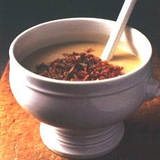 Delia Smith's Tuscan White Bean Soup with Frizzled Shallots and Pancetta  - one of my all time faves!!