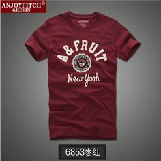 TOP Quality AF Anjoy&Fitch Brand Casual T Shirt