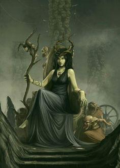 Nicnevin, Queen of the Unseelie Court