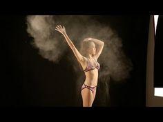 ▶ How to: Flash Photography - Bikini Powder Girl - YouTube
