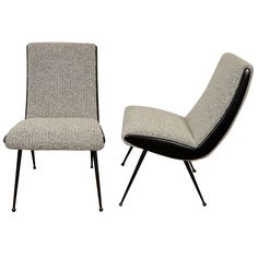 Curvaceous Pierre Paulin Chairs