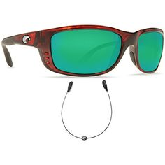 Costa Del Mar Zane Tortoise Green Mirror Glass w Free Costa CLine Bla >>> Check this awesome product by going to the link at the image. (This is an affiliate link) Sports Sunglasses, Oakley Sunglasses, Mens Sunglasses, Tortoise, Mirror Glass, Free, Image Link, Outdoors, Costa Del Mar