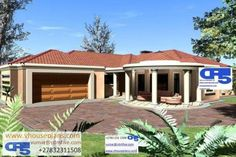 House Plan No I RRojas claim my Entry to win this prize Dream Homes, My Dream Home, Single Storey House Plans, All Design, House Design, Site Plans, Architect House, Garage Plans, House Floor Plans
