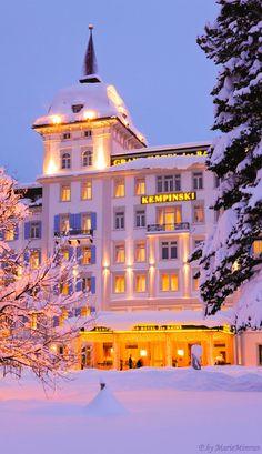 Kempinski Grand Hotel Des Bains St Moritz Switzerland – Home Design Zermatt, Lugano, Places Around The World, Around The Worlds, Zurich, Grindelwald, Kempinski Hotel, Switzerland Hotels, St Moritz