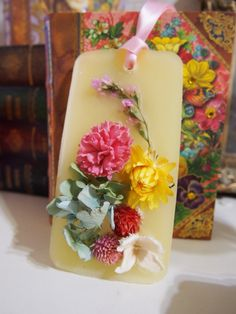 Soap Crystals, Wax Tablet, Dry Flowers, Cute Diys, Ikebana, Candle Making, Pillar Candles, Herbalism, Diy And Crafts