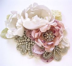 Victoria luxe flower rhinestone sash or brooch in by icing101 https://www.etsy.com/listing/116978232/victoria-luxe-flower-rhinestone-sash-or?ref=listing-shop-header-4