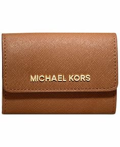 MICHAEL Michael Kors Jet Set Travel Coin Purse - Wallets & Wristlets - Handbags & Accessories - Macy's