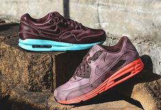 Nike Air Max QS Burnished. 1 & 90 with Lunar sole. Beauty's!
