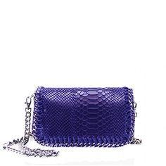 Women XJ15 Snakeskin Embossed Shoulder bag Ladies Cross Body Tote Shopper Bag