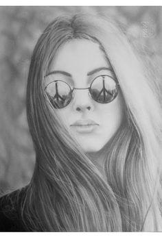 Marina Castellan: Pace - disegno a matita #peace