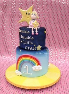 Twinkle Twinkle Little Star cake