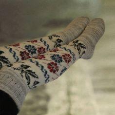 High over knee socks Womens knee socks Wool leg by AccessoryArty