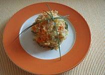 Šťouchané brambory s cuketou a mrkví