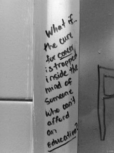 The philosophical musing. | 20 Types Of Bathroom Graffiti You'll Only See In Britain