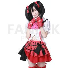 LoveLive! Cosplay Nico Yazawa op1 Dress Suit Costume