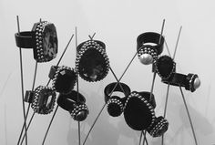#rings, #anelli, #swarovski, #plexiglass, #bijouxespresso