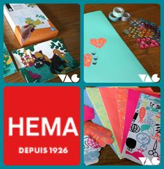 VAC  (le vide-atelier des créatives)  :  Les fournitures créatives Hema
