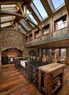 The Best DIY and Decor: Converted Barn Kitchen
