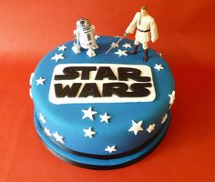 Star Wars cake  With the kind of people I work with I can see being asked to make this type of cake a time or two :)