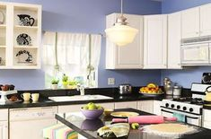 20 Spectacular Small Kitchen Designs: Blue