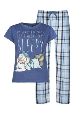 Pyjama Disney bleu Dormeur